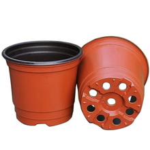 100 PCS Double Color Plastic Garden Flower Pot Mini Flowerpot Home Garden Planter Pot Unbreakable Plastic Nursery Pots