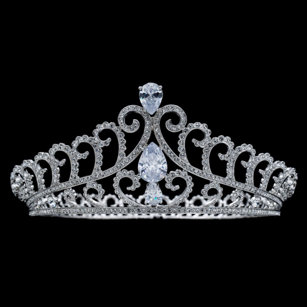 Real crowns and tiaras