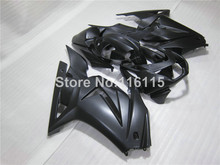 100% fit for Kawasaki Ninja fairings 250r 2008 2009-2014 injection molding EX250 08-14 all matte black fairing kit ZX250 NZ13