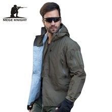Buy Mege Brand Hardshell Camouflage Men Windbreaker Clothes, Military Waterproof Army Autumn Jacket, Tactical Multicam Coat Men for $47.42 in AliExpress store