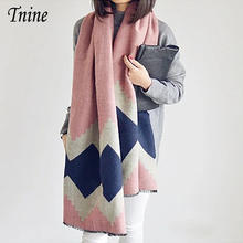Luxury Brand Ladies Scarves Winter Thick Warm Shawl Big Blanket Scarf Foulard Women Shawls and Scarves Stoles Pashmina Echarpes