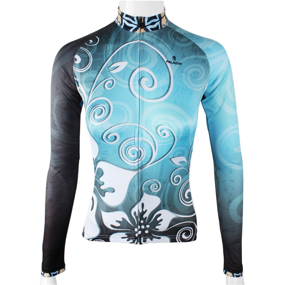 Blue Proof Fence Womens Long sleeve jersey Cycling jersey Cycling Sportswear Winter Clothing Bicycle jersey Cycling clothing<br><br>Aliexpress