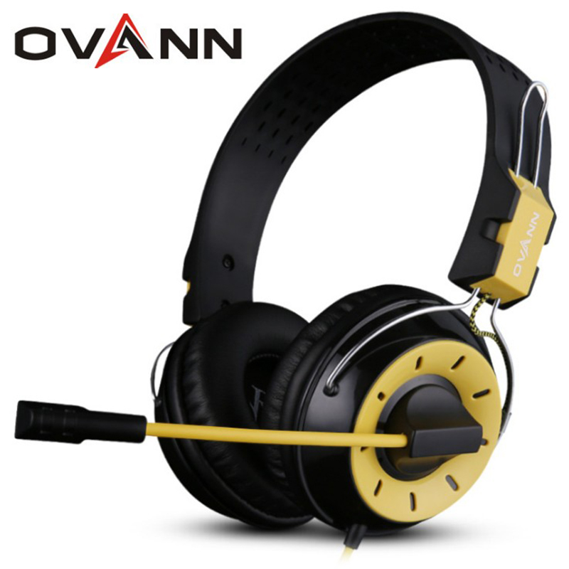 Ovann X10 3.5mm plug PC Computer Wired Professional Gaming Stereo Bass 40mm Speaker Headset Headphone with Microphone<br><br>Aliexpress