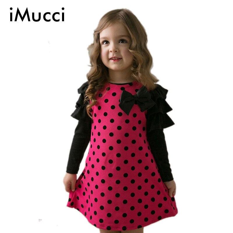 Girls Long-Sleeve Dress Baby Kids Clothes 2016 New Fashion High Quality Cotton Spring Children Clothing Girl Princess Dress B<br><br>Aliexpress
