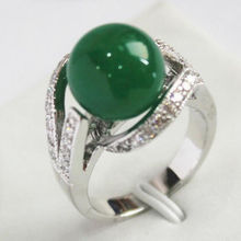 FREE SHIPPING 11609 Green Ring(China)