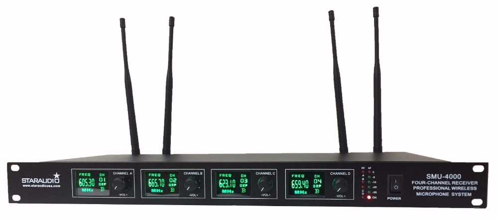4 channel receiver