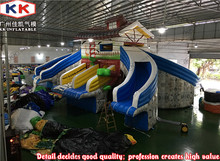 Snow House Inflatable water Slide / Commercial Inflatable Slide for kids swimming pool(China)