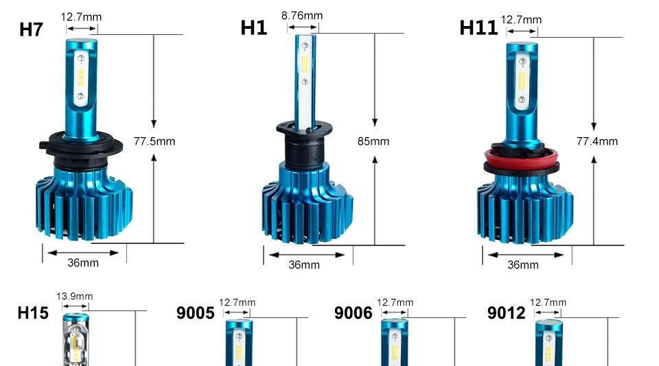 H7 led light bulbs for cars (14)