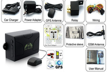 Car Vehicle GPS tracker device TK104 Standby 60 days gps tracker tk104(China)