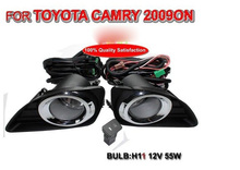 Camry fog light,2006~2008/2009~2011/2012~2014,2pcs/set+wire of harness,Camry halogen light,Free ship! Camry headlight,Camry