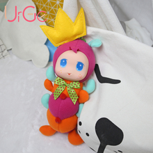 Free Shipping cartoon soft baby dolls plush doll reborn toys for children Birthday Christmas Gift URGE 40cm Doll(China)