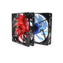 Brand New LED Cooling Fans 3pin 4pin Low Noise for Computer Case 120x120x25mm