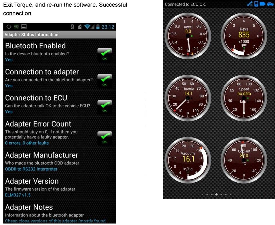 4)elm327 Bluetooth-OBDII