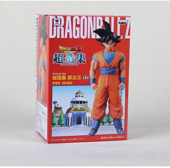 Banpresto DragonBall Z Figure Son Goku Black Hair Dragon Ball DXF Action Figure DBZ Collection<br><br>Aliexpress