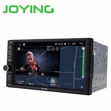 Joying 7'' radio 2 Din Auto Stereo Android 6.0 2G RAM Car Head unit GPS Player support steering wheel wifi DVR Camera Hands-free(China)