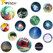 Twitch Marble Pop Holder Colorful Cellphone Tablet Expanding Pop desk finger ring holder For Iphone6 6s 7 plus For Samsung(China)