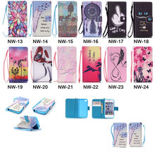 Fashion PU Leather Case For iPhone 4 4s 5 5s 5C SE 6 6s 6s Plus Flip Wallet Stand Cover Handbag With Hand Strap Cell Phone Cases