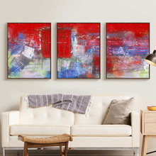 Abstract Watercolor Painting Cotton Canvas Painting Home Decor Wall Art Photo no Frame for Living Room Nordic Art Style Picture