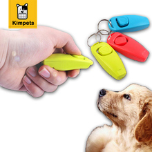 Hot Sale Pet Dog Suppliers Intelligence Toys Pet Clicker Training Trainer Aid whistle(China)