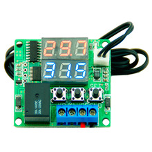 Buy DC 12V Dual LED Digital Display Thermostat Temperature Controller Regulator Switch Control Relay NTC Sensor Module for $2.81 in AliExpress store