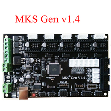 PCB controller board MKS Gen V1.4 integrated mainboard compatible Ramps1.4/Mega2560 R3 support a4988/DRV8825/TMC2100