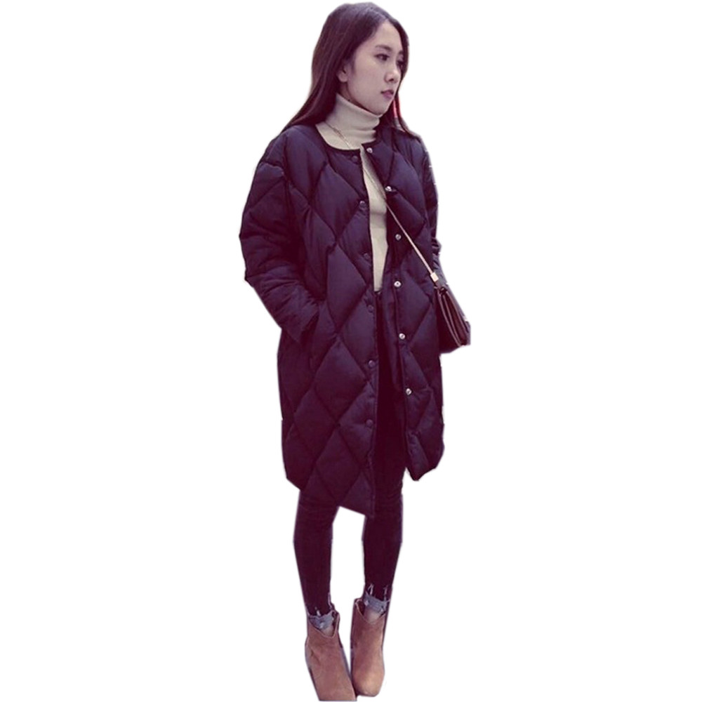2017 Winter New Fashion Long Coat Womens Slim Thicken Warm Jacket Cotton Padded Zipper Plus Size Outwear Casacos Down ParkasОдежда и ак�е��уары<br><br><br>Aliexpress