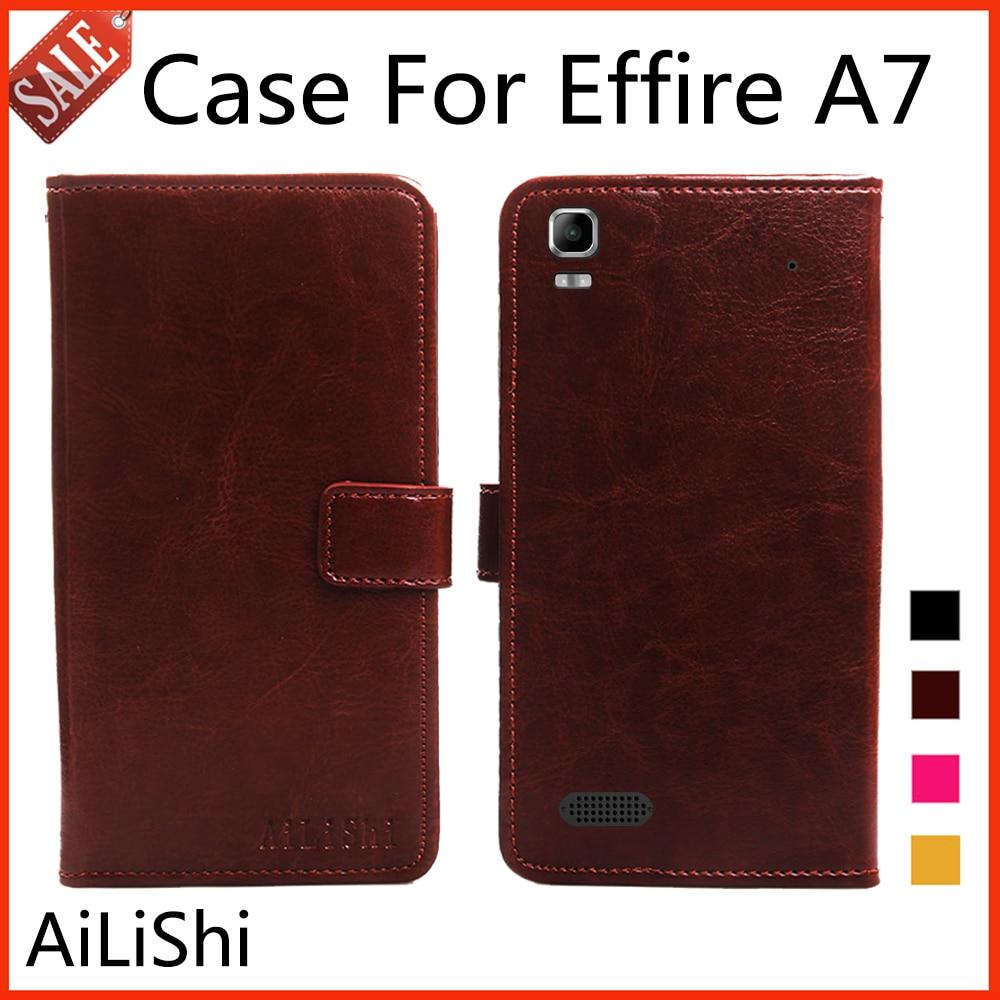 Color book effire - Ailishi Flip Leather Case For Effire A7 Case New Arrive Protective Cover Phone Bag Wallet 4