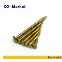 1.2*15mm , 1600pcs , brass nails high quality DIY accessories , woodworker anti rust nail