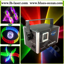 DMX+ILDA+SD+2D+3D Multi-Functional 1.5w rgb laser light/dj lights/stage light/ laser light/laser projector