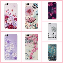 Protective Cover for HTC One X9 X 9 Phone Cases Back Soft TPU Case for HTC X9 Cover Luxury 3D Relief Printing Bag