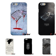 GOT Game Of Thrones House Stark Logo Soft Case Silicone For Huawei G7 G8 P8 P9 Lite Honor 5X 5C 6X Mate 7 8 9 Y3 Y5 Y6 II(China)