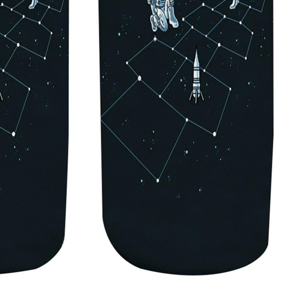 2018-astronauta-3D-dise-o-impreso-divertido-Calcetines-para-las-mujeres-Low-Cut-ankle-Happy-Calcetines (2)