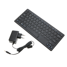 Portable For Windows 10 All in One Keyboard PC Mini PC Thin Client Entertainment Media 72 Keywith HD VGA TF Card Slot 2GB +32GB(China)