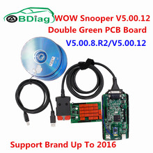 2017 Latest V5.00.12 WOW Snooper V5.00.8.R2 Keygen Free Activate TCS CDP Pro Auto Diagnostic Interface For Car/Truck/Generic