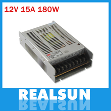 New model 12V 15A 180W Switch Power Supply Driver Switching For LED Strip Light Display 110V/220V(China)