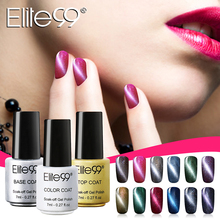 Elite99 Gel Polish Cat's Eye Gel Nail Polish Set Magnetic Nail Polish Colors Gel Luckly Varnish Lacquer Cat Eye Nail Gel(China)