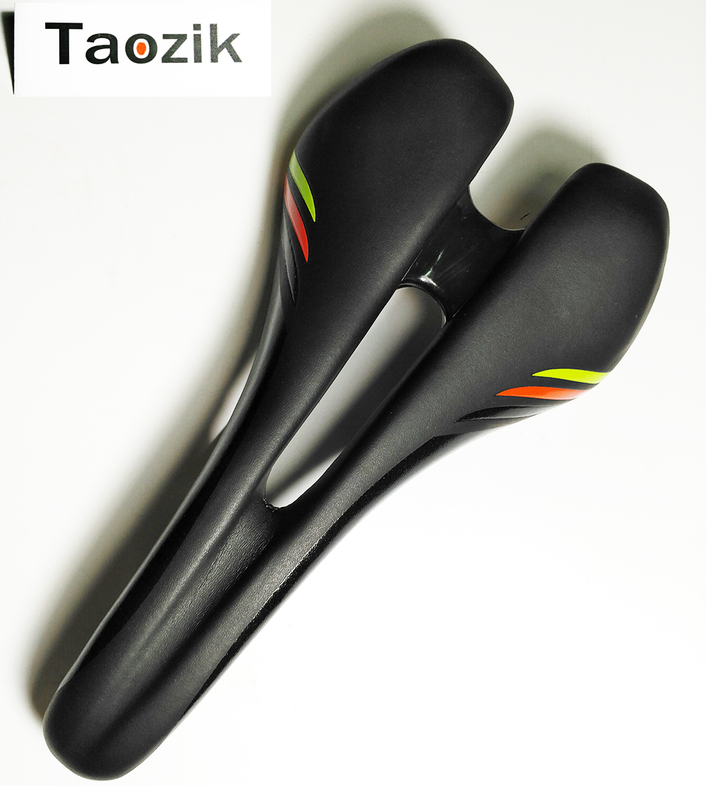 Taozik cool price ultralight BG classic 143mm titanium rail Flag mini racing road mtb bicycle saddle<br>