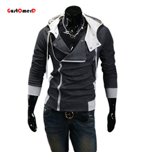 9 cores M-6XL 2015 Hoodies Homens Moletom Masculino Agasalho Com Capuz Jacket Casual Masculino Casacos Com Capuz moleton Assassins Creed