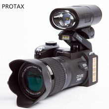POLO/Protax D7200 Digital Camera 33MP Auto Focus Professional SLR HD Video Camera 24X +Telephoto Wide Angle Lens LED Fill Light(China)