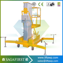 12m Mobile Hydraulic Man Lift with Ce & ISO9001(China)