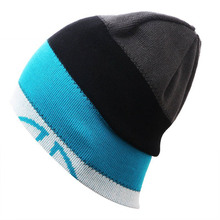 2016 Unisex Fashion Snowboard Winter Ski Hats Caps Beanies High quality Double-sided turtleneck cap Gorros