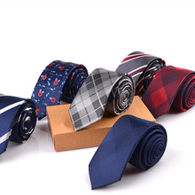 SHENNAIWEI 2017 hot sale 6cm neck ties for men 6 cm wedding accessories slim fashionable neckties man Party Business Formal lot(China)