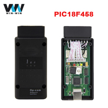 For Opel OPCOM V1.65 with PIC18F458 chip Diagnostic Cable for OPEL Op com OBD2 OBDII Diagnostic Tool Support CAN BUS Interface