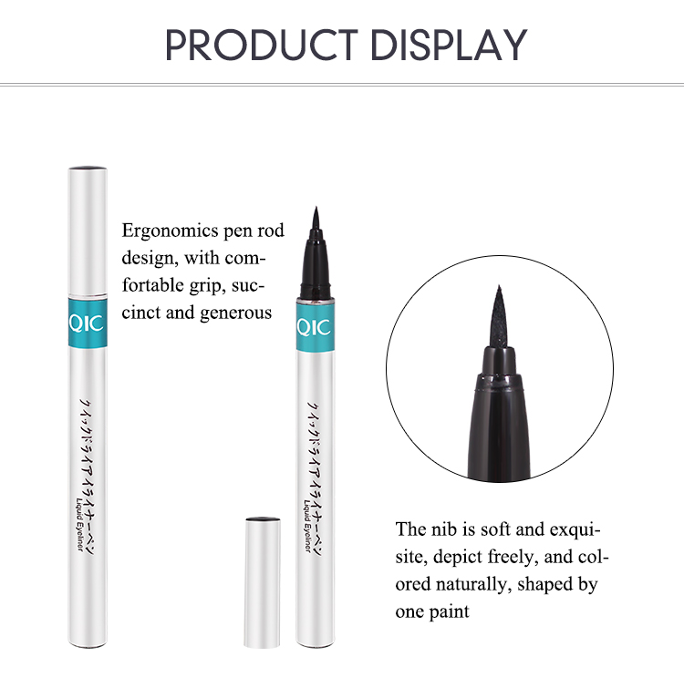 1pc Black Waterproof Liquid Eyeliner | Make Up Beauty Comestics 11
