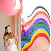 10pcs/lot News ballons 36inch big baloon wedding decoration birthday Children's toy latex latex balloons pink clear Balls baloes