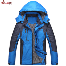 UNCO&BOROR plus size L~5XL Spring fall Jackets Men Coats outwear Casual Hooded Mens Windbreaker Windproof Waterproof Male Jacket