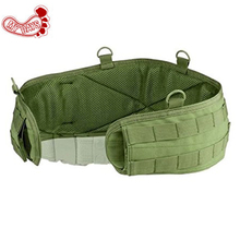 MY DAYS Tactical camouflage army green black Battle Belt padded molle waist belt military waist bag pouches hunting accessories