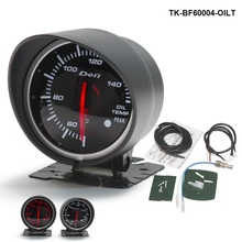 60mm DF BF Auto Oil Temperature Meter Red and White Light For Mustang GT V8 05-10 TK-BF60004-OILT(China)