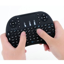 Wireless Mini keyboard Air Mouse English Arabic Russian Hebrew Version Spanish Thai Available for PC Laptop iPad Raspberry Pi