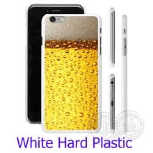 Oie A Glass Of Beer Cool White Phone Case Cover for iPhone 6 6S 7 Plus 5S 5 SE 5C 4 4S  ( Soft TPU / Hard Plastic for Choice )